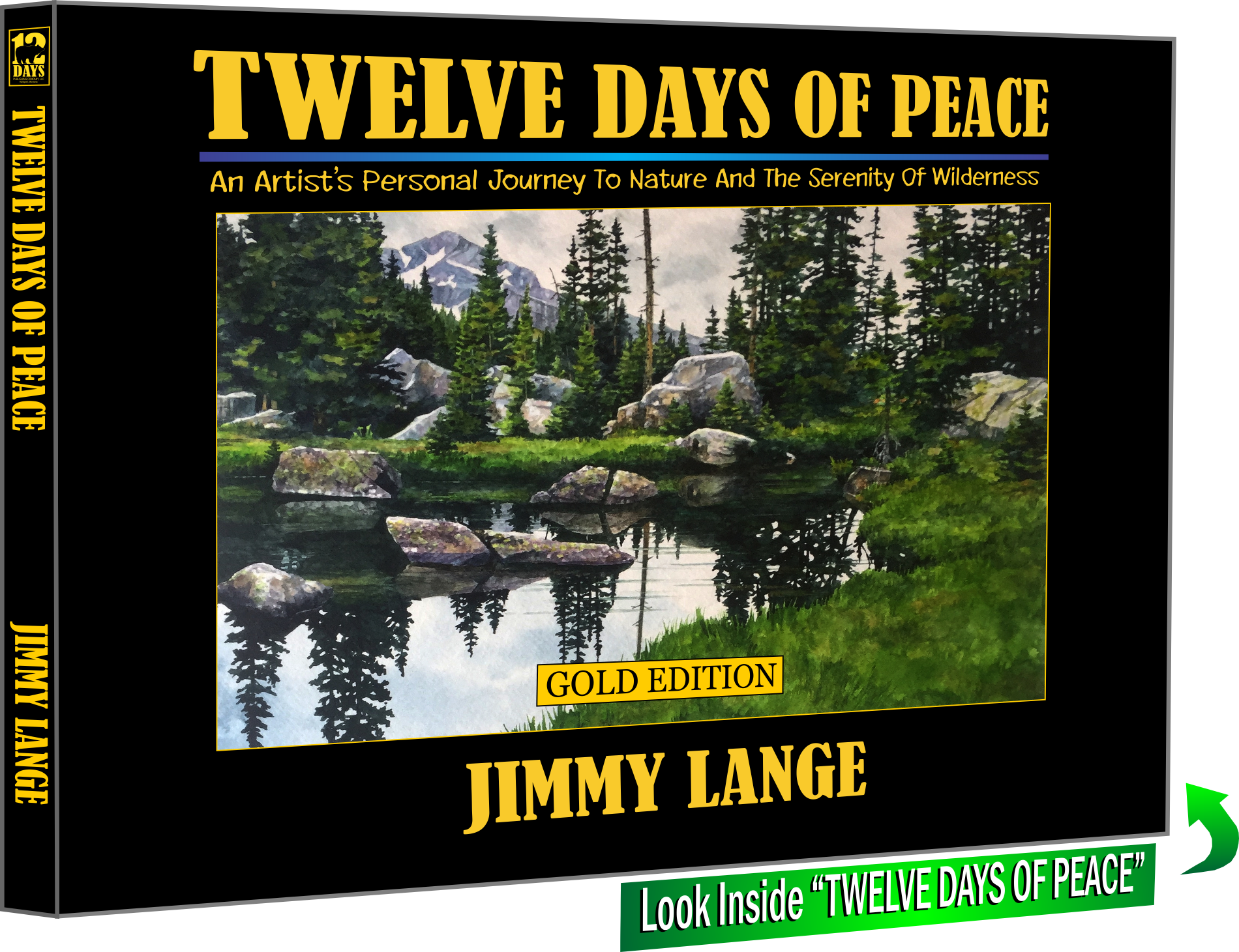 Image of book cover - Twelve Days of Peace by Jimmy Lange